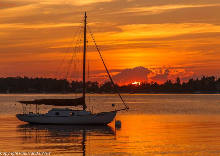 13. Sunset Harmony, Harpswell
