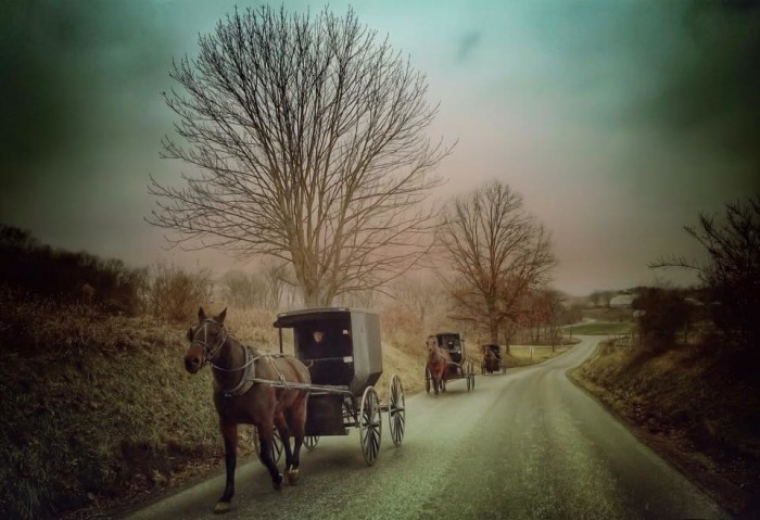 """1. """"Amish Country"""" in Millersburg, OH"""