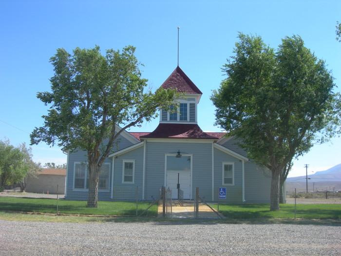 1. Golconda Schoolhouse - Golconda, NV