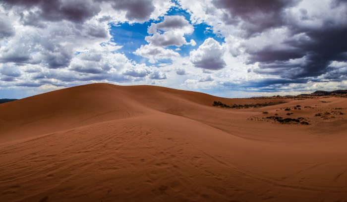 9. From Aladdin: Coral Pink Sand Dunes State Park