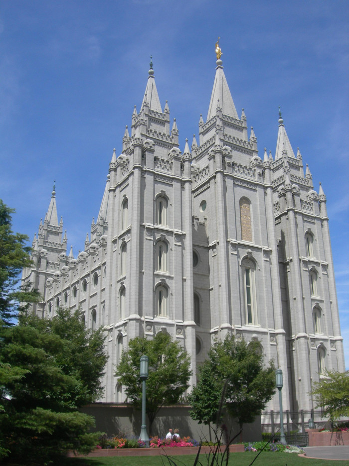 5. The Headquarters of the LDS Church