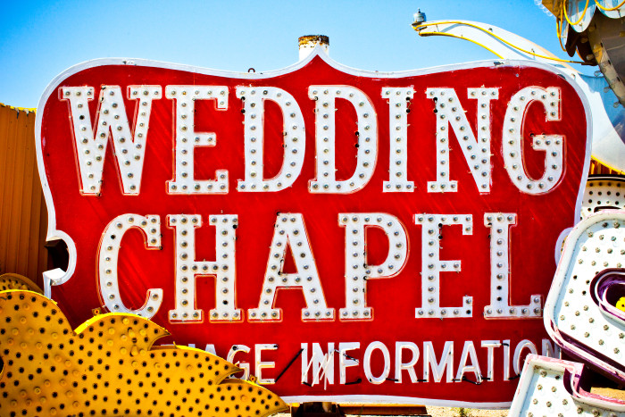 5. Because Nevadans have seen their fair share of quickie weddings, chances are you won't be taken to the chapel on a whim.