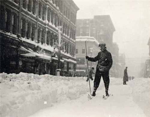 7. Few people can say they've skied 16th Street!