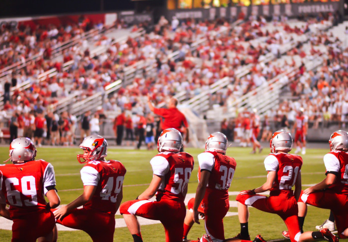 2) High school football on Friday nights.