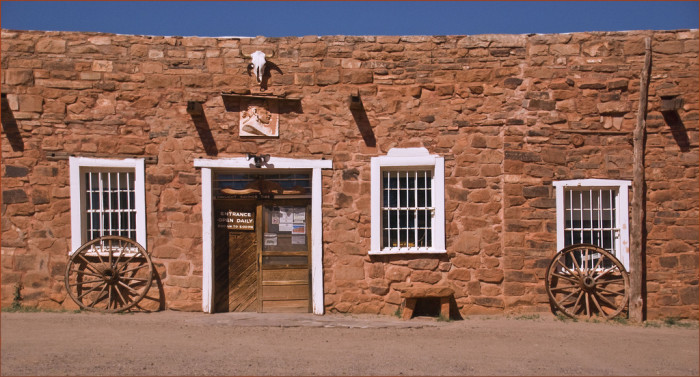 14. Check out an old trading post
