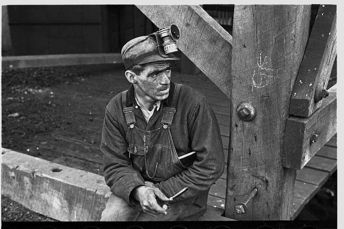 25. A coal miner in Jenkins via 1935.