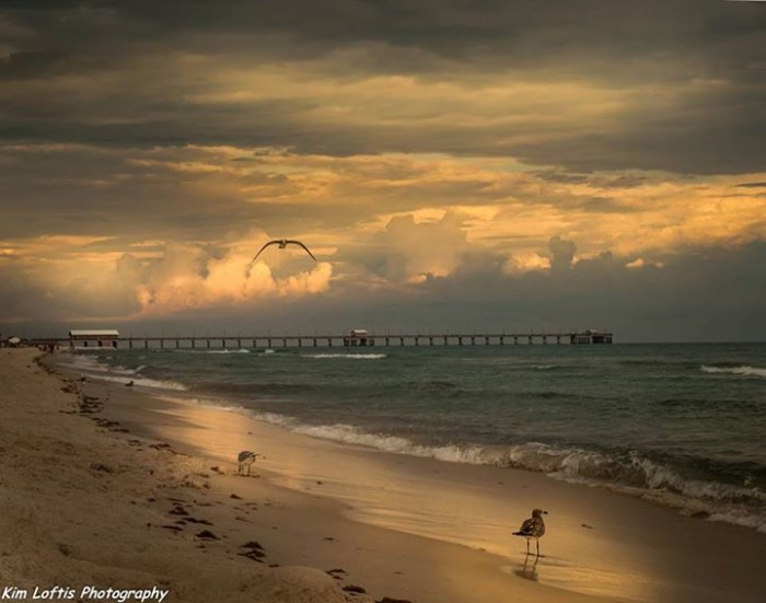 1. This AMAZING photo, taken in Gulf Shores, is a reminder of how beautiful Alabama's Gulf Coast beaches truly are.