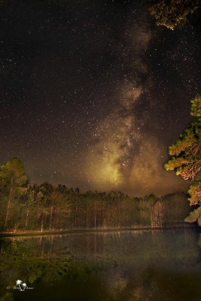 13. A magical shot of the Milky Way over Washington County.