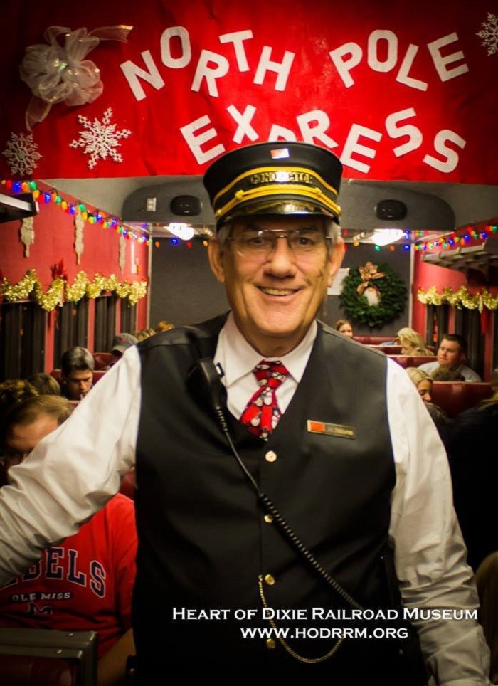 7. If you have children, or want to be taken back to your childhood, you can hop aboard the North Pole Express for the journey of a lifetime.
