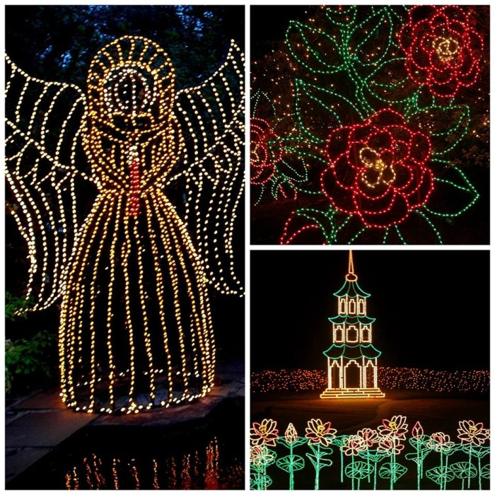 The most magical christmas towns in alabama for Bellingrath gardens christmas lights 2016