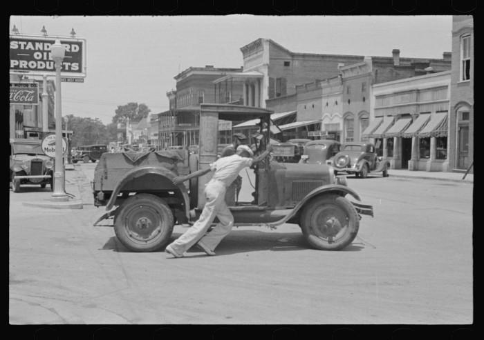 16. Downtown Greensboro - 1936.