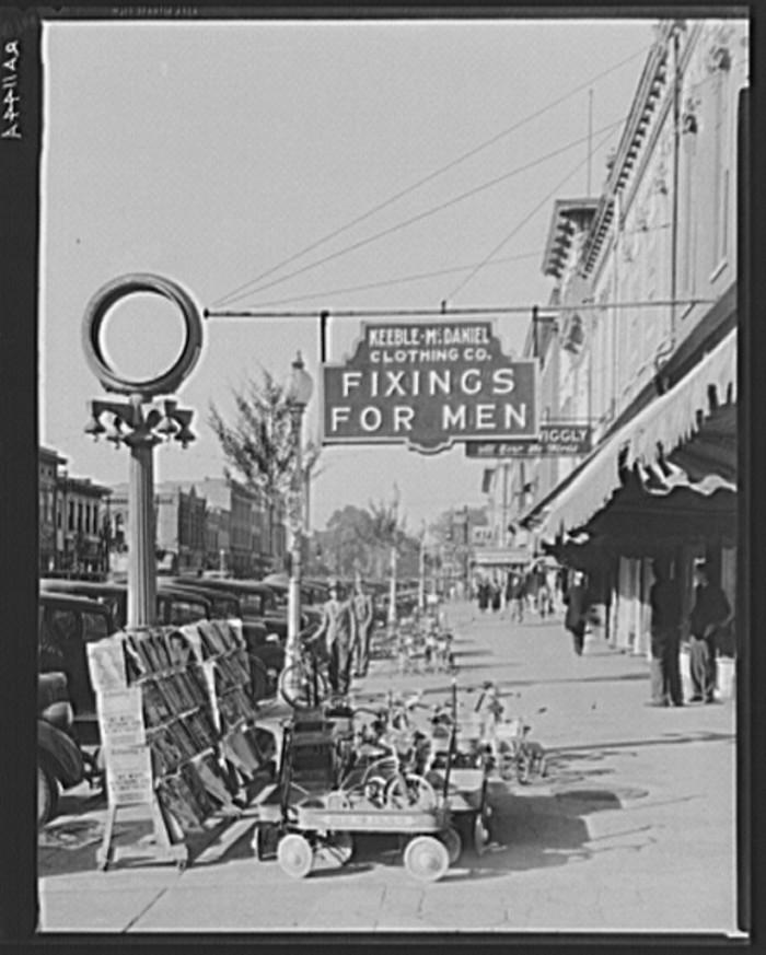 4. Main Street, Selma - 1935.