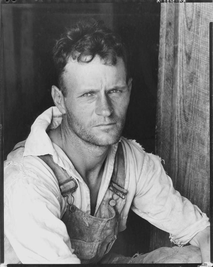 1. Floyd Burroughs - Cotton Sharecropper