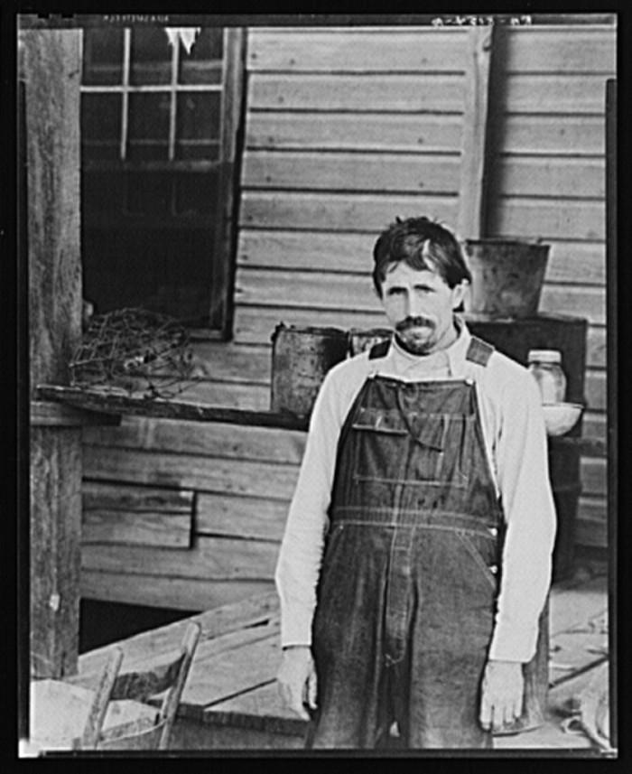 3. Frank Tengle - Cotton Sharecropper