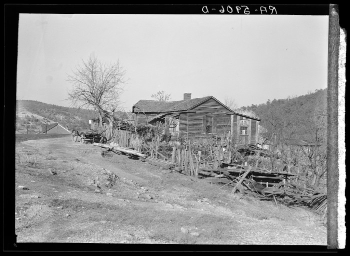 8. A Miner's Home - Brookside, 1937
