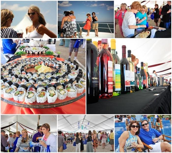 7. Attend the Orange Beach Wine Festival.