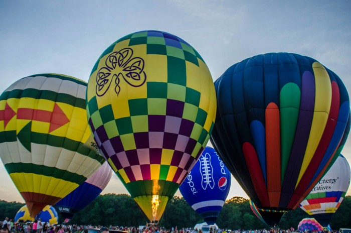 9. Attend the Alabama Jubilee Hot Air Balloon Classic.