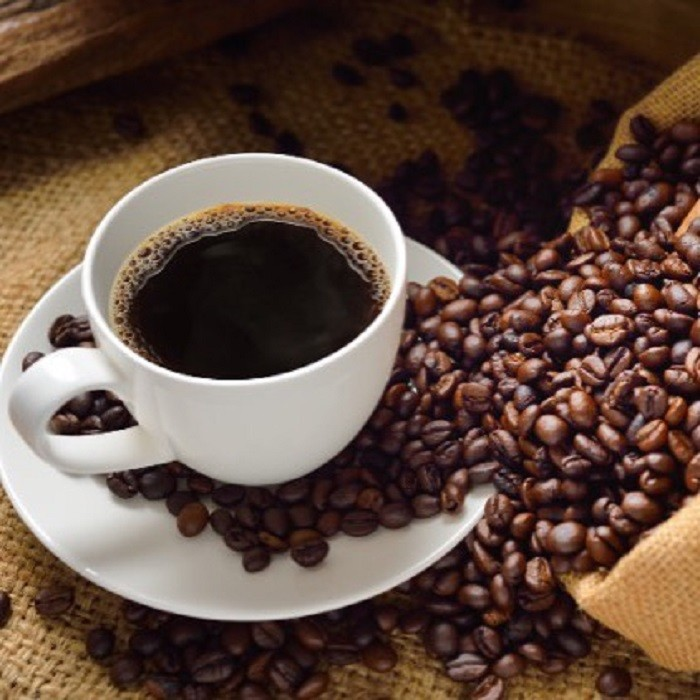 10. Start your morning off with a delicious cup of coffee...