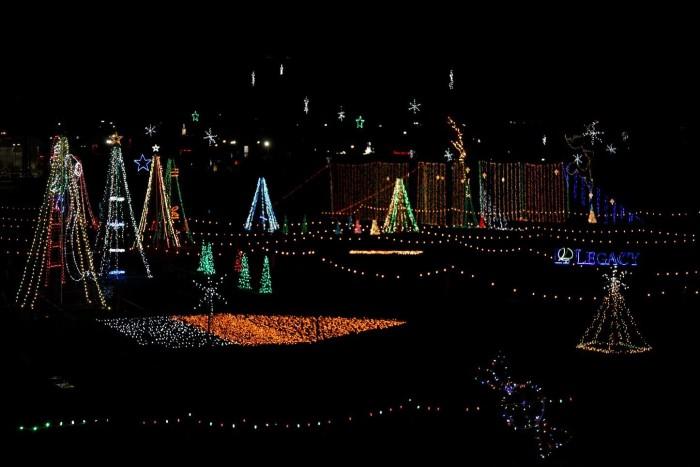 7. Oak Mountain Festival of Lights - Pelham