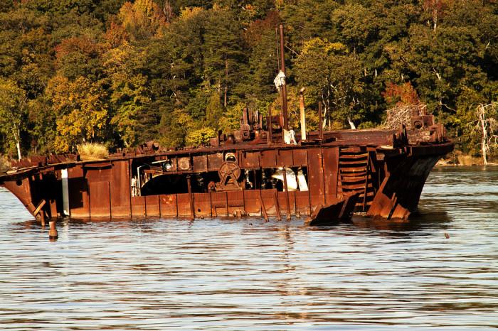 10) Mallows Bay, Charles County