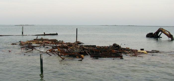 Holland Island after...