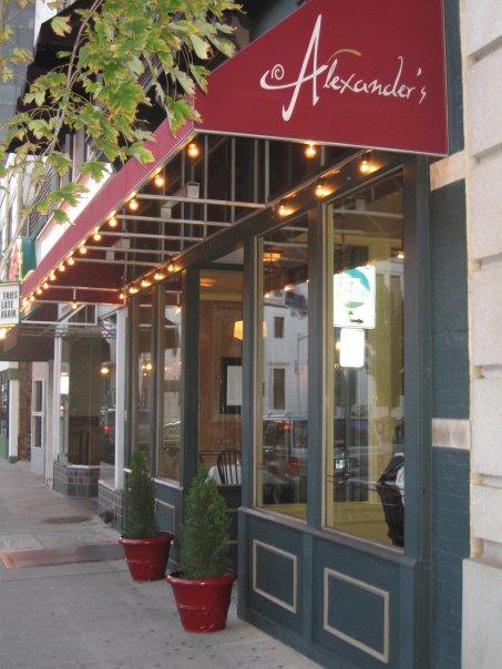 2. Treat yourself to award-winning cuisine at Alexander's in Roanoke.