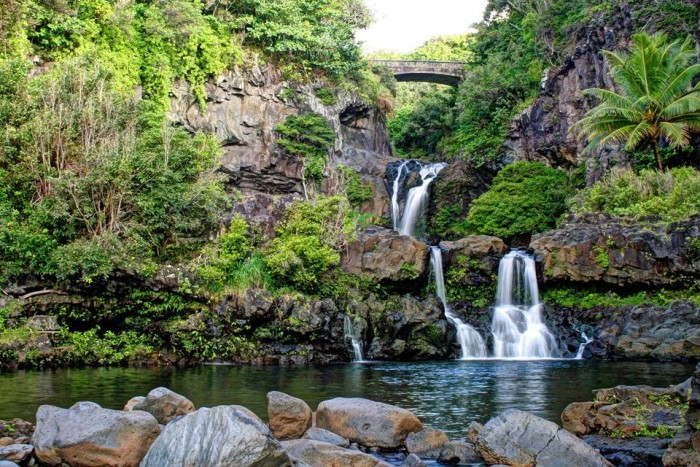 12) Also known as the Seven Sacred Pools, O'heo Gulch is one of Maui's most incredible sites.