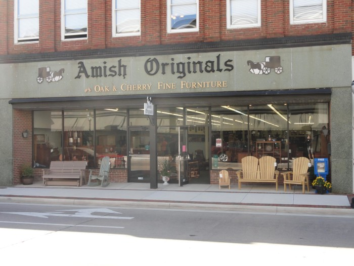 amish furniture farmville va
