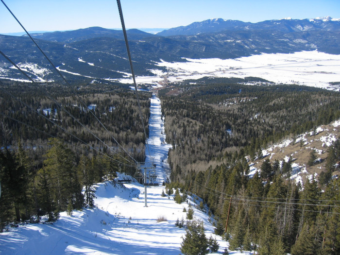 10. The views from the Angel Fire ski lifts are unsurpassed.
