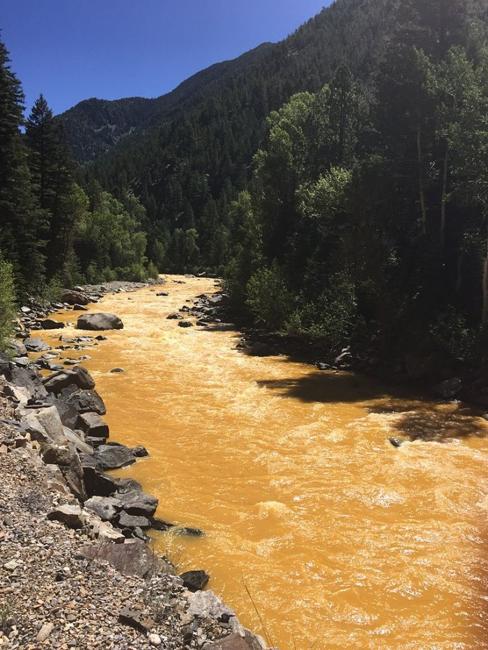 1. The Gold King Mine waste water spill into the Animas River.