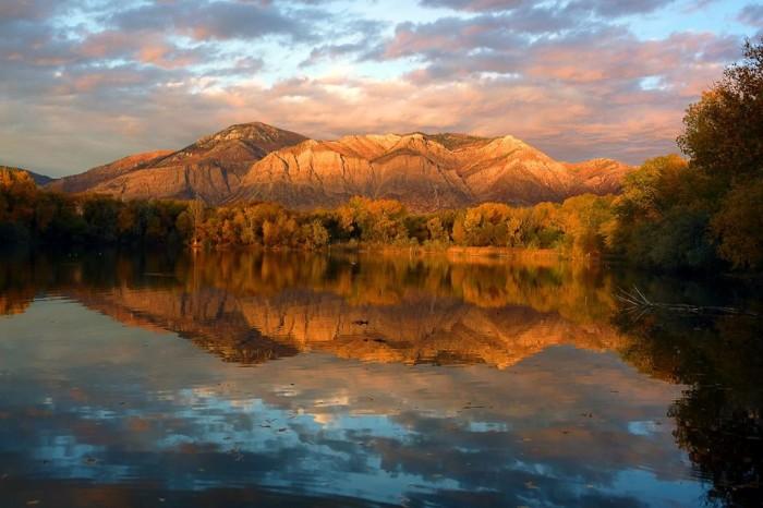 15. Wasatch Range, Near Ogden, by Arnold Thayer