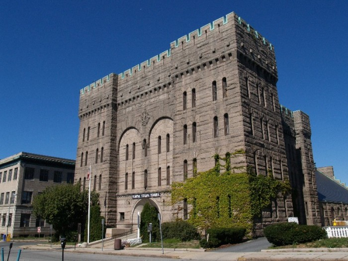 9. State Armory Castle, Fall River