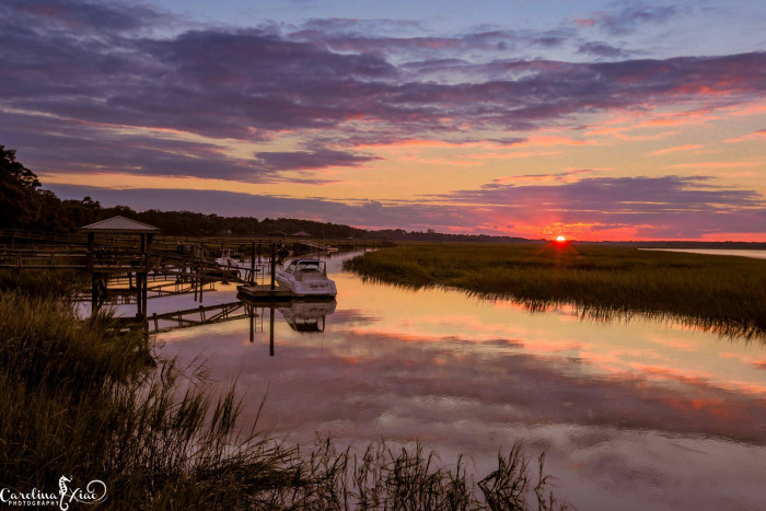 6. Beaufort sunset. Photo by Carolina Xiao Photography.