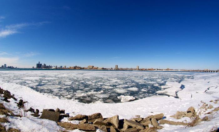 Belle Isle, after