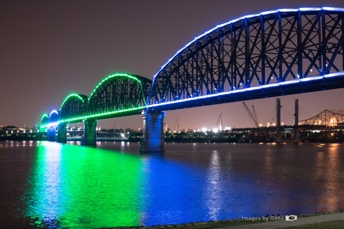 3. Big Four Bridge.