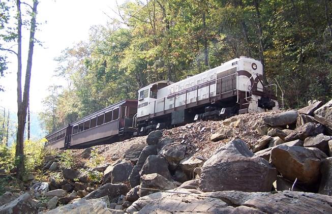 1. Big South Fork Scenic Railroad