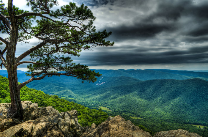 4.	Or the Blue Ridge Parkway
