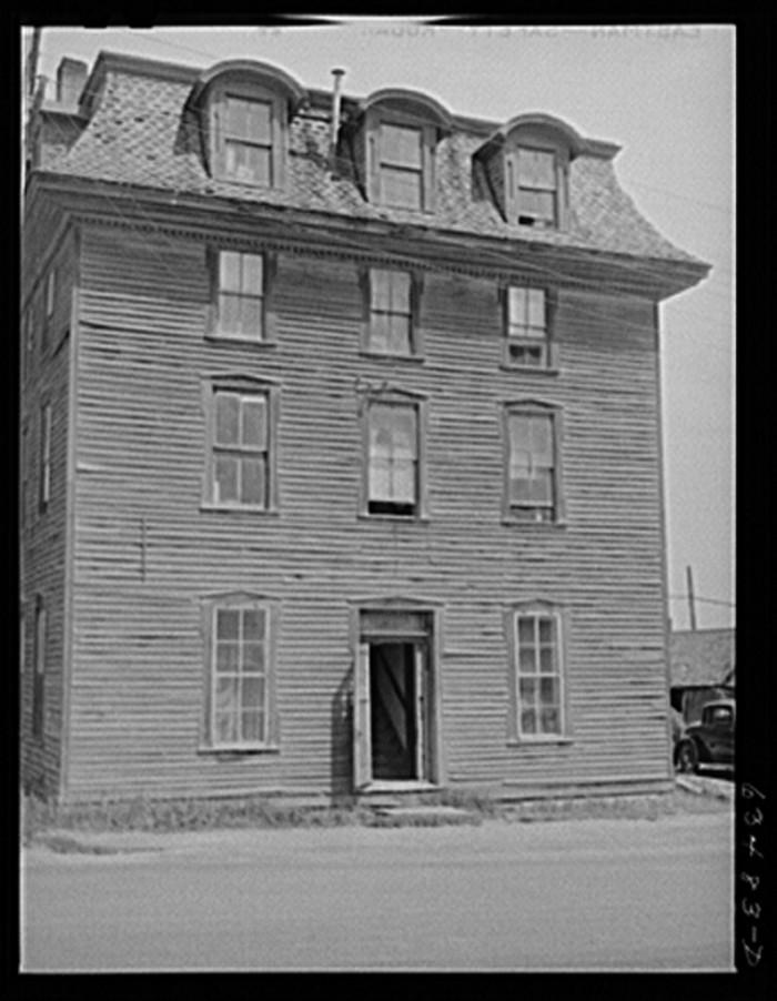 11) Boarding house, Baraga, Aug. 1941.