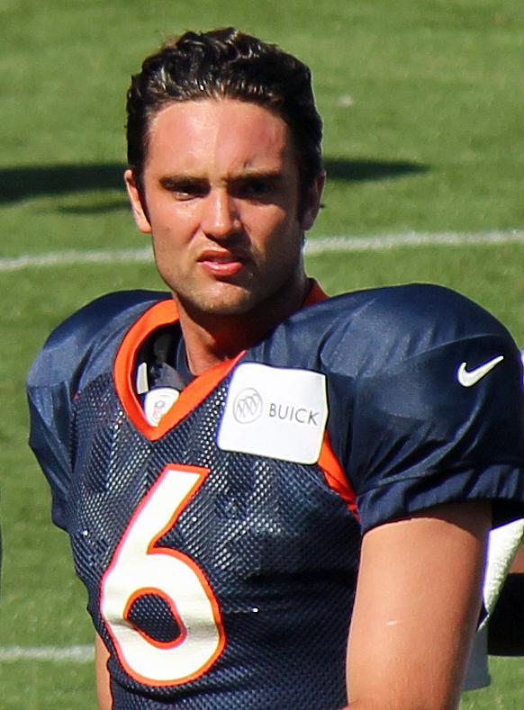 13. A stellar backup quarterback