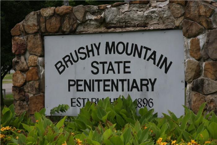 Brushy Mountain State Penitentiary - est. 1896