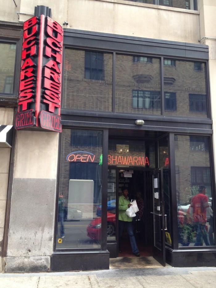 12) Bucharest Grill, Detroit
