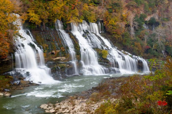 7) Caney Fork River