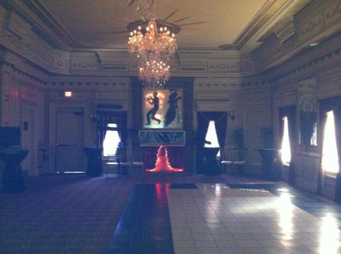 Castlepost ballroom.