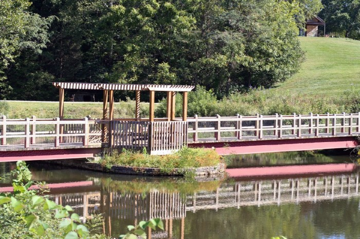 5. Cedar Pond Pavilion at Bernheim Forest