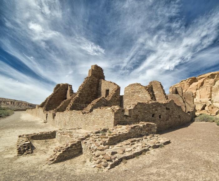 5. Chaco Culture National Historical Park, Near Nageezi