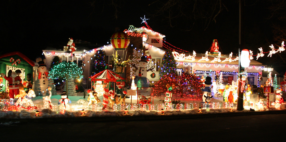 these 14 places in new jersey have the best christmas decorations