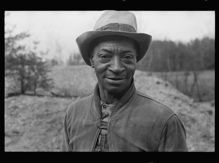 9. A laborer on the Chopawamsic Recreational Project, 1936.