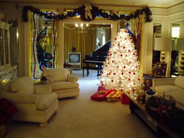 10) Christmas at Graceland - Memphis