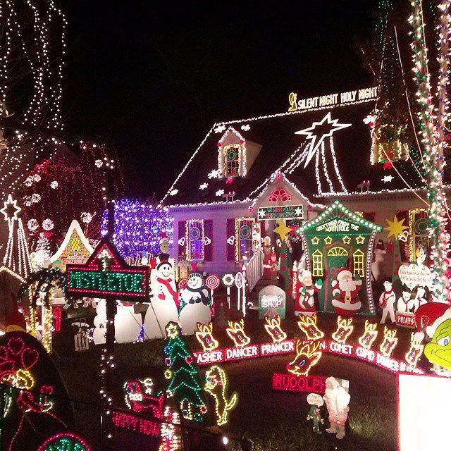 6. We have some of the best holiday celebrations anywhere - from traditional to tacky, they're always a good time.