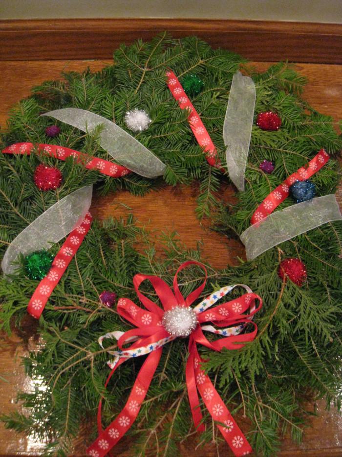 5. Christmas wreaths